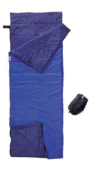 Cocoon Tropic Traveler Sleeping Bag Nylon Long royal blue/tuareg